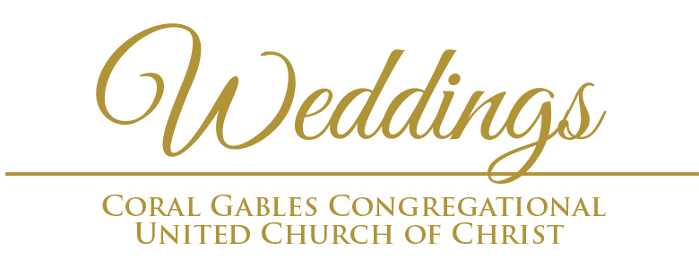 Weddings at Coral Gables Congregational United Church of Christ